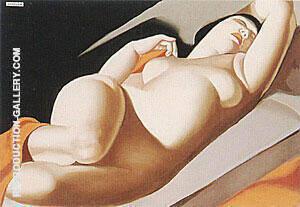 La Belle Rafaela II 1957 Painting By Tamara de Lempicka