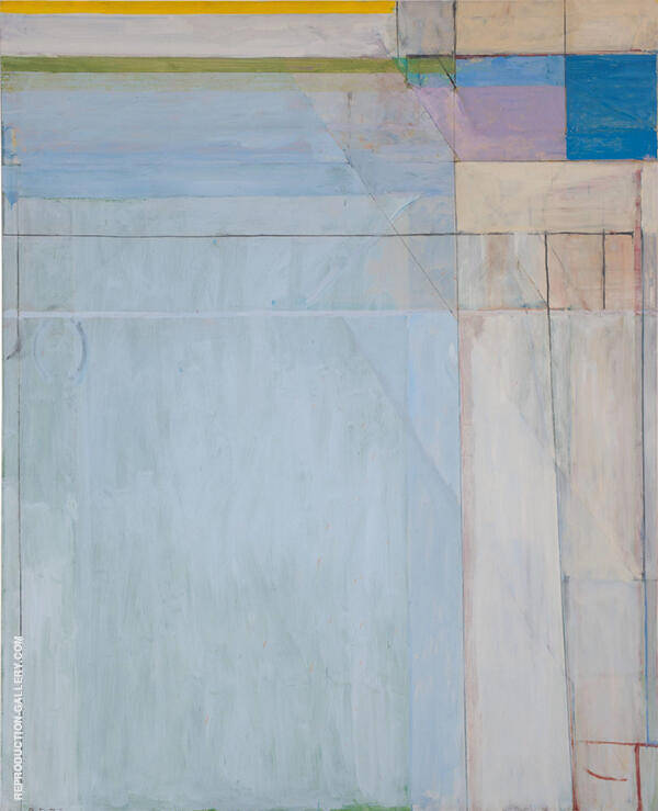 Ocean Park 54 by Richard Diebenkorn   Oil Painting Reproduction Replica On Canvas - Reproduction Gallery