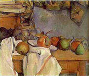 Ginger Pot with Pomegranate By Paul Cezanne