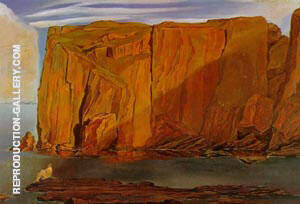 Figure on the Rocks Penya Segats 1926 Painting By Salvador Dali