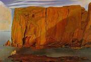 Figure on the Rocks Penya Segats 1926 By Salvador Dali