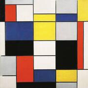 Composition A By Piet Mondrian