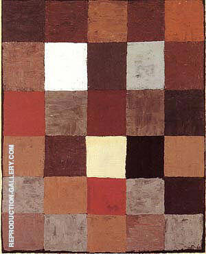 Reproduction of Color Table 1930 by Paul Klee | Oil Painting Replica On CanvasReproduction Gallery