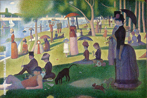 Sunday Afternoon on the Island of the Grande Jatte By Georges Seurat