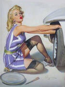 Tyre Change By Pin Ups