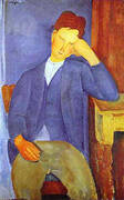 The Young Apprentice 1918 By Amedeo Modigliani