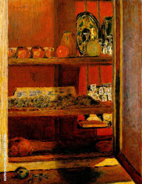 The Red Cupboard Le Placard Rouge Painting By Pierre Bonnard