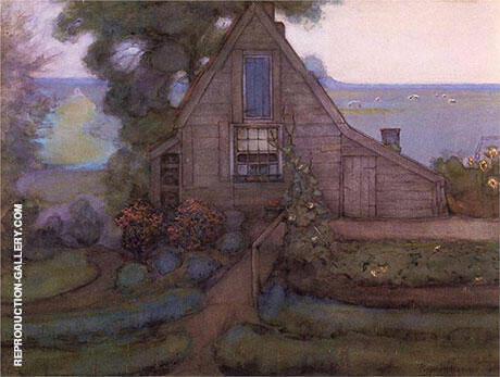 Solitary House By Piet Mondrian