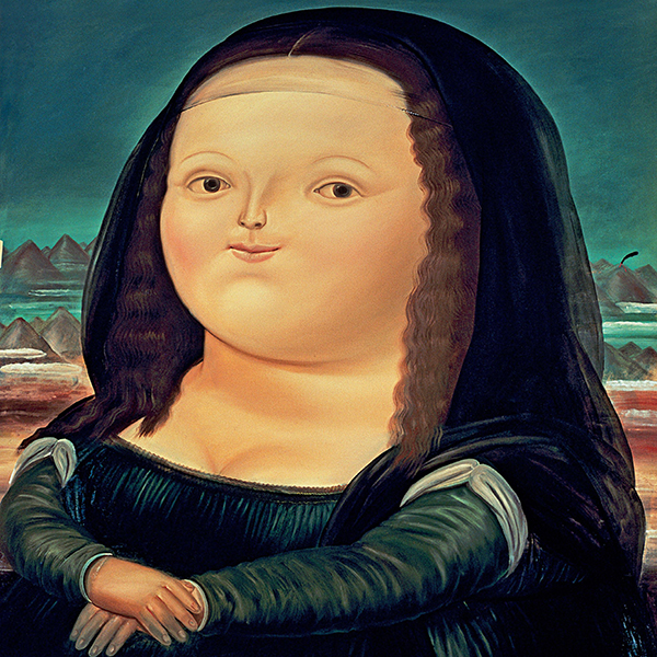 Oil Painting Reproductions of Fernando Botero