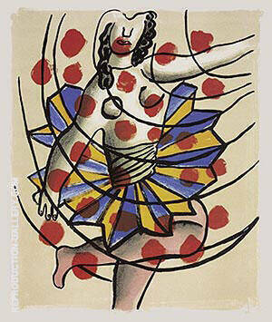 Le Cirque Painting By Fernand Leger - Reproduction Gallery
