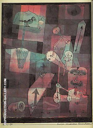Analysis of Various Perversities 1922 By Paul Klee