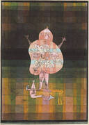 Ventriloquist and Crier in the Moor 1923 By Paul Klee