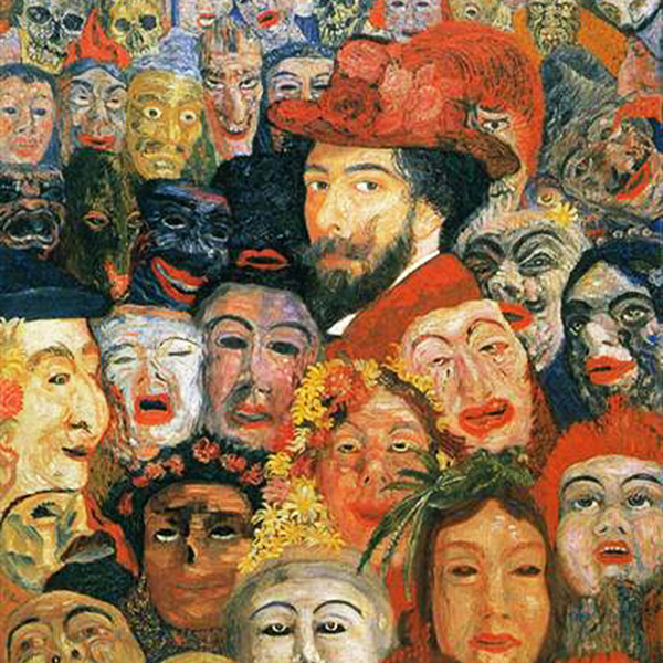 Oil Painting Reproductions of James Ensor