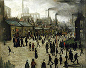 Manufacturing Town 1922 By L-S-Lowry