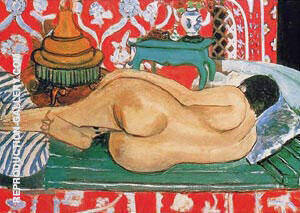 Reclining Nude 1927 Painting By Henri Matisse - Reproduction Gallery
