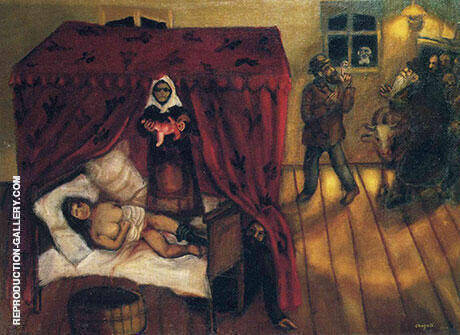 Birth 1910 By Marc Chagall