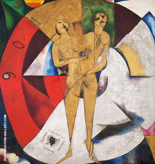 Homage to Apollinaire 1911 By Marc Chagall
