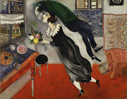 The Birthday, 1915 By Marc Chagall