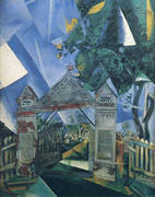 Cemetery Gates 1917 By Marc Chagall