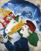 Peasant Life, 1925 By Marc Chagall