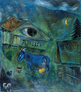 The House with the Green Eye 1944 By Marc Chagall
