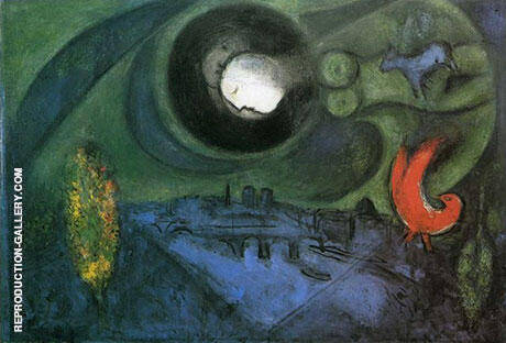 Le Quai de Bercy 1953 Painting By Marc Chagall - Reproduction Gallery