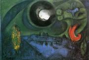 Le Quai de Bercy 1953 By Marc Chagall