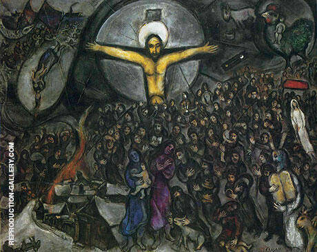 Exodus By Marc Chagall - Oil Paintings & Art Reproductions - Reproduction Gallery