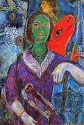 Portrait of Vana, 1966 By Marc Chagall
