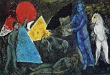The Myth of Orpheus 1977 By Marc Chagall