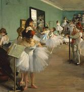 Dance Class 1874 By Edgar Degas