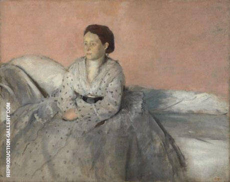 Estelle Musson, 1872-73 Painting By Edgar Degas - Reproduction Gallery