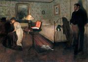 The Rape c1900 By Edgar Degas