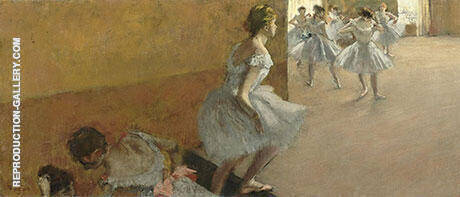 Dancers Climbing the Stairs, c1880 By Edgar Degas
