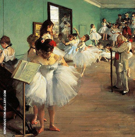 Dancing Examination, 1874 By Edgar Degas