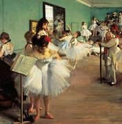 Dancing Examination, 1874 By Edgar Degas
