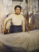 Woman Ironing 1869 By Edgar Degas