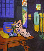 Red Fish in Interior 1912 By Henri Matisse