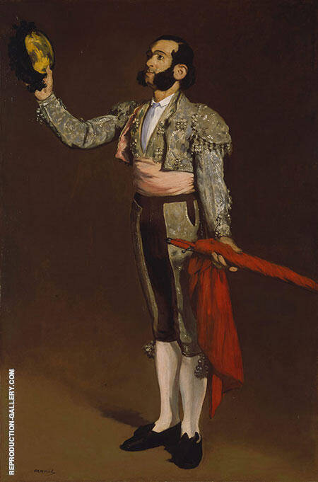 A Matador 1866 Painting By Edouard Manet - Reproduction Gallery