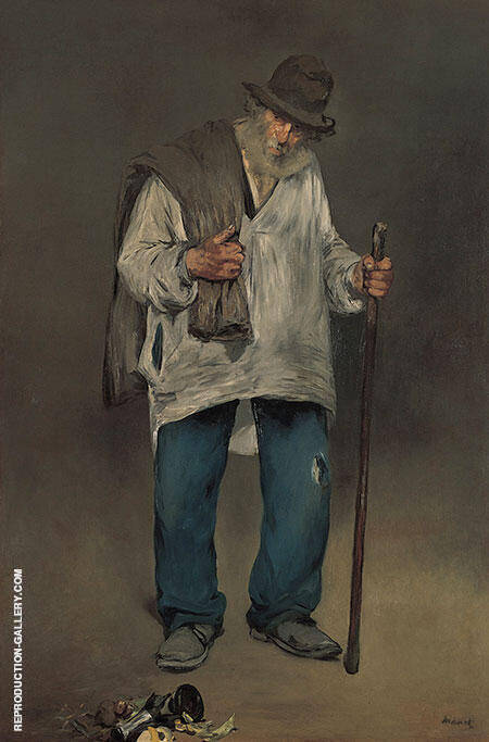 The Ragpicker By Edouard Manet - Oil Paintings & Art Reproductions - Reproduction Gallery