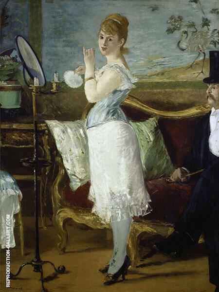 Nana 1877 By Edouard Manet
