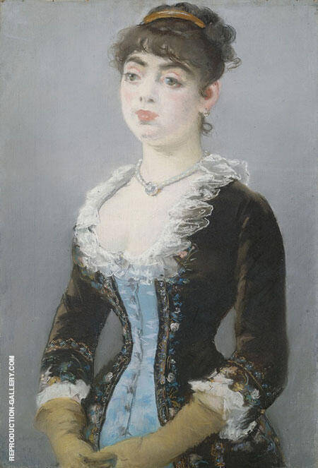 Reproduction of Madame Michel Levy 1882 by Edouard Manet | Oil Painting Replica On CanvasReproduction Gallery
