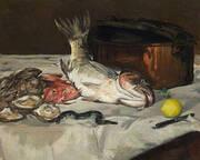 Fish Still Life 1864 By Edouard Manet