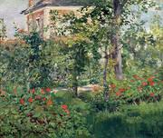 The Bellevue Garden 1880 By Edouard Manet