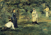 Croquet 1873 By Edouard Manet