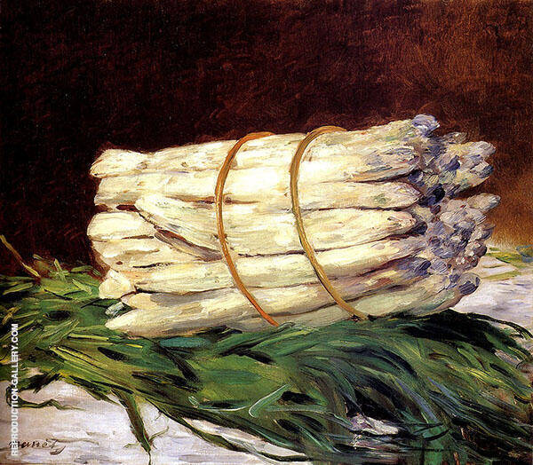 Bunch of Asparagus 1880 Painting By Edouard Manet - Reproduction Gallery