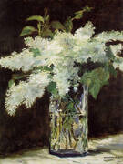 White Lilacs 1883 By Edouard Manet