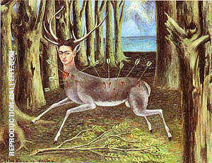 Wounded Deer 1946 By Frida Kahlo