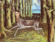 Wounded Deer 1946 By Frida Kahlo