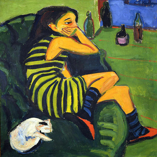 Oil Painting Reproductions of Ernst Kirchner